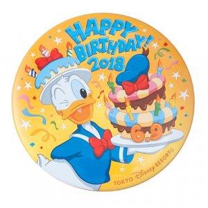 Donald's Birthday Can Badge