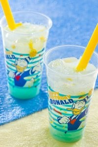 Donald Cider with blue jelly