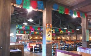 Miguel's El Dorado Cantina Decorations