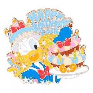 Donald Duck Birthday Pin