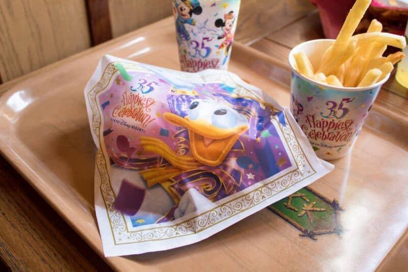 Minced Meat Cutlet Packaging Tokyo Disneyland