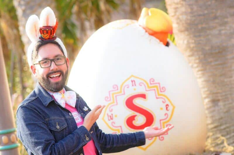 Sindbad Easter Egg Tokyo DisneySea