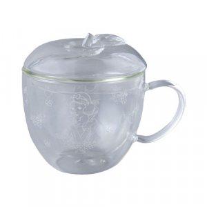 Snow White Apple Glass