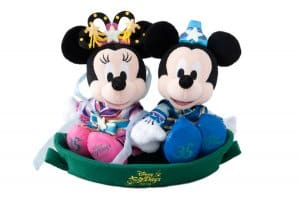 Tanabata Mickey and Minnie Plushes at Tokyo Disney Resort