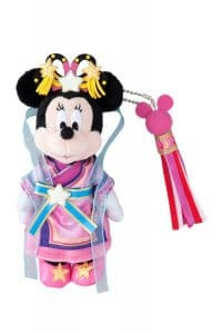 Tanabata Minnie Badge at Tokyo Disney Resort