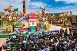 Toy Story Land Opening Ceremony