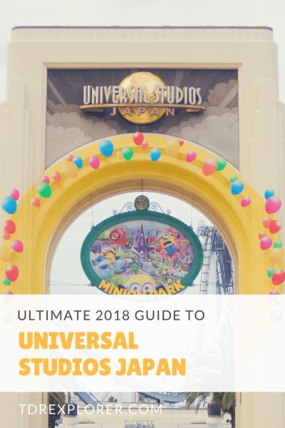 Universal Studios Japan Ultimate 2018 Guide Pinterest