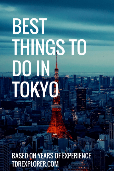 Best Things To Do in Tokyo Tokyo Tower Pinterest