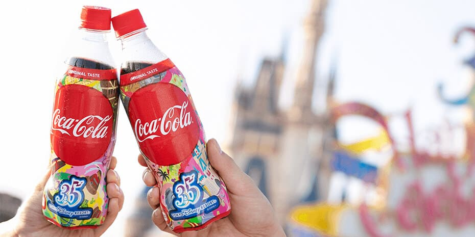 Coca-Cola 35th Anniversary Merchandise at Tokyo Disney Resort