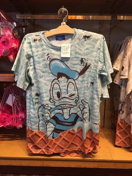 Donald Ice Cream T-shirt
