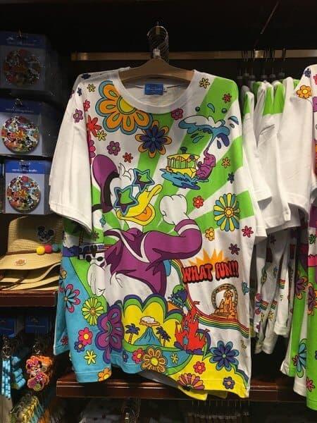 Donald What Fun! Flowers T-shirt