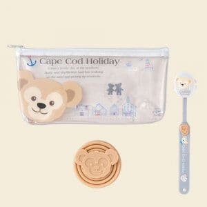 Duffy Toothbrush Bag and Holder