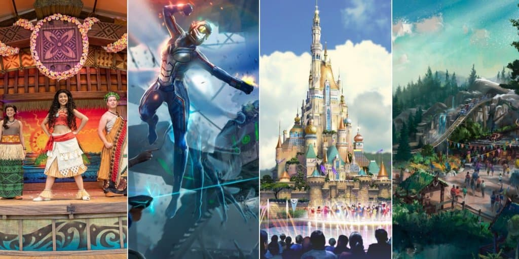 Marvel (Ant-Man), Frozen, and Castle Transformation at Hong Kong Disneyland
