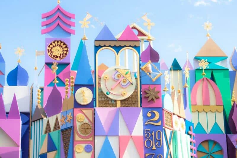 it's a small world Renewed Tokyo Disneyland