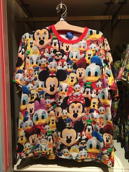 Mickey and Friends Plushes Shirt