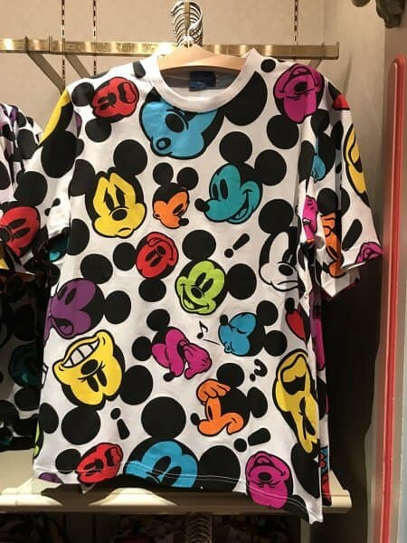 Mickey Faces T-shirt