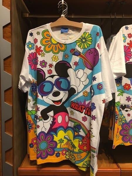 Mickey What Fun! Flowers T-shirt