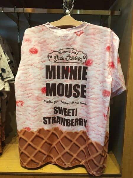Minnie Ice Cream T-shirt Back