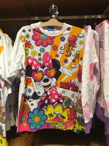 Minnie What Fun! Flowers T-shirt