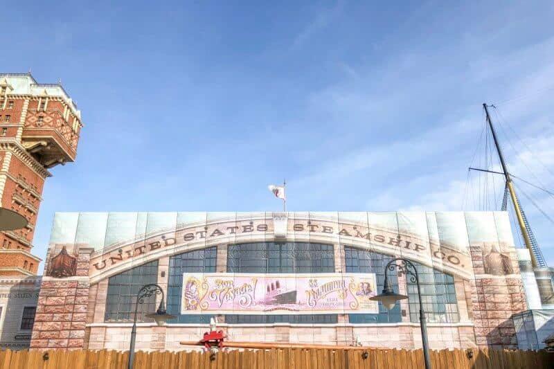 Sailing Day Buffet Closed Tokyo DisneySea