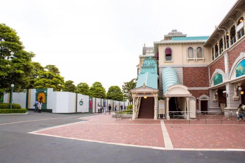 Tokyo Disneyland Gate Construction Station