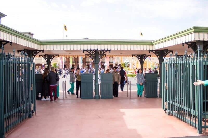 Tokyo Disneyland New Gates