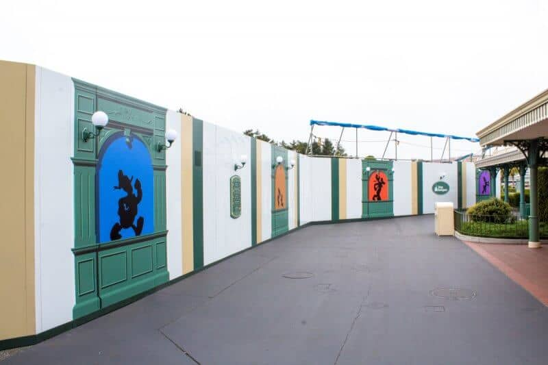 Tokyo Disneyland Ticket Gate Right Side