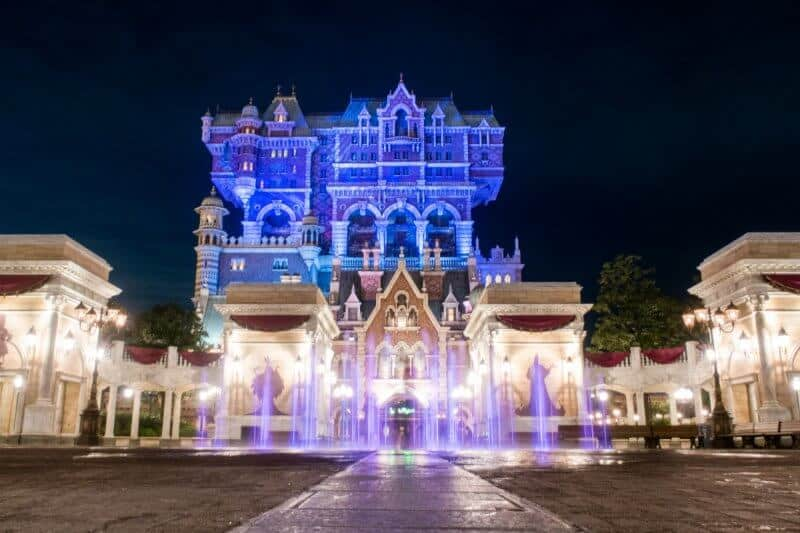 Tower of Terror Night Tokyo DisneySea