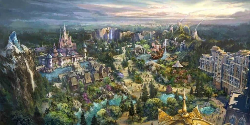 Largest Ever Expansion Announced for Tokyo DisneySea Opening in 2022