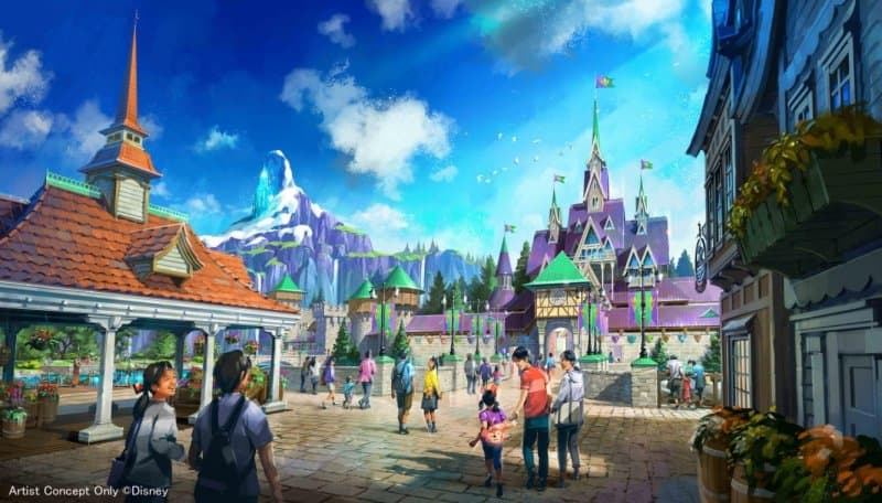 DisneySea Expansion Frozen