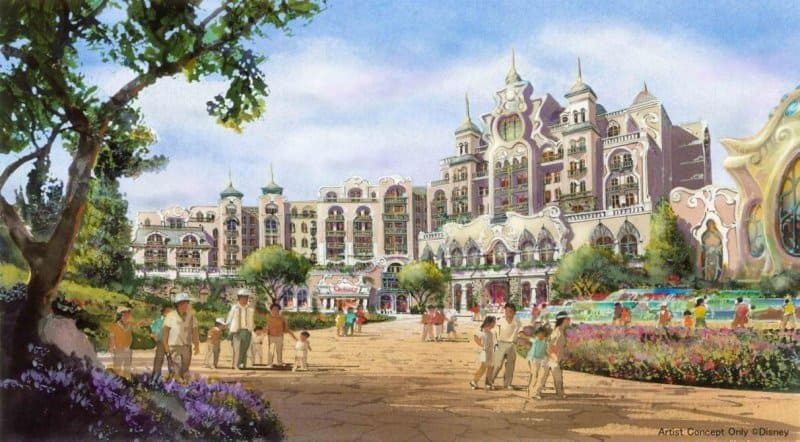 DisneySea Expansion Hotel