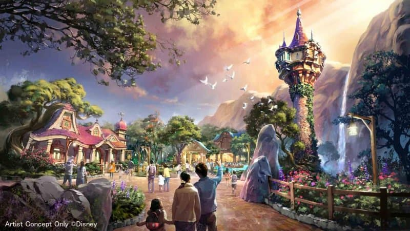 DisneySea Expansion Tangled