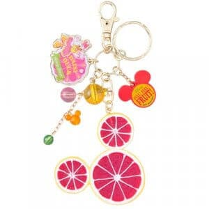 Grapefruit Keychain