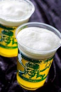 Green Apple Beer Cocktail