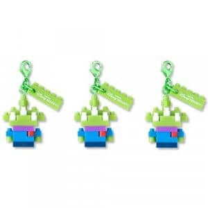 Green Men Keychain Set at Tokyo Disney Resort