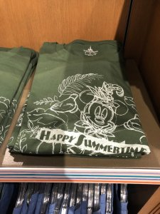 Mickey Happy Summertime T-shirt