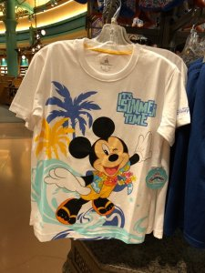 Mickey It's Summer Time T-shirt