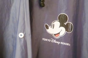Mickey Mouse Poncho Front