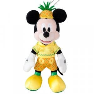 Mickey Pineapple Plush Badge
