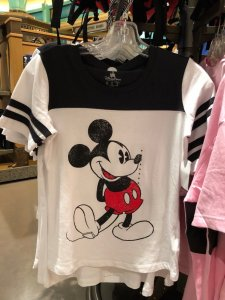 Mickey White and Navy T-shirt