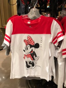Minnie White and Red T-shirt