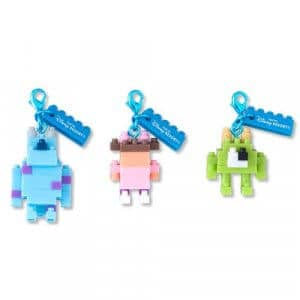 Monsters Inc Keychain Set at Tokyo Disney Resort