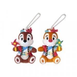 Chip and Dale Plush Badge