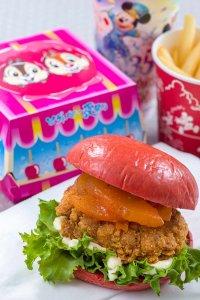 Natsu Matsuri Pepper Fried Chicken Sandwich