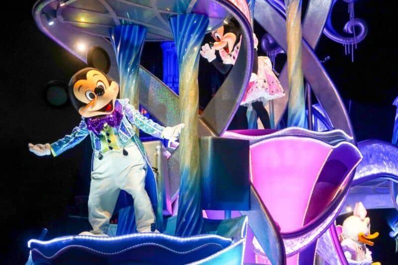 Nightfall Glow Tokyo Disneyland