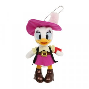 Pirate Daisy Plush Badge