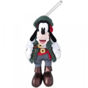 Pirate Goofy Plush Badge