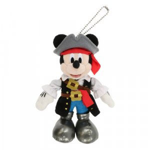 Pirate Mickey Plush Badge