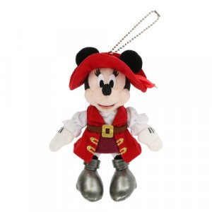 Pirate Minnie Plush Badge