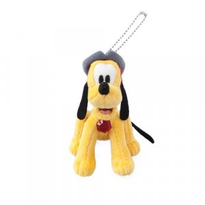 Pirate Pluto Plush Badge